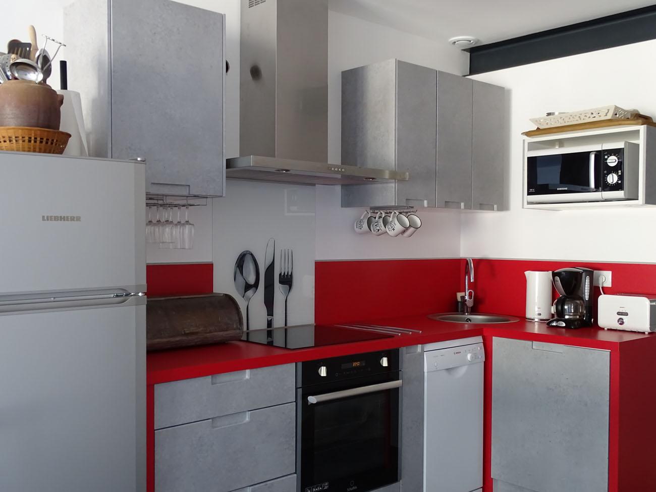Location Appartement Ile de Ré - Bastingage - Cuisine