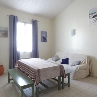 Location Appartement Ile de Ré - Civelle - Salon