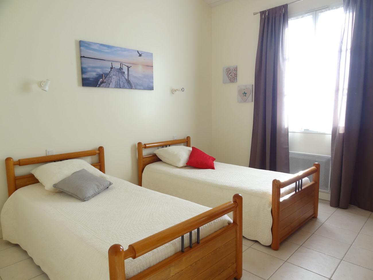Location Appartement Île de Ré - Colombelle - Chambre