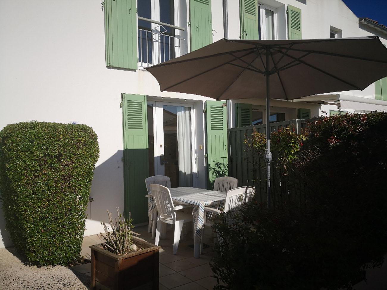 Location Appartement Ile de Ré - Jolie-Brise - Terrasse