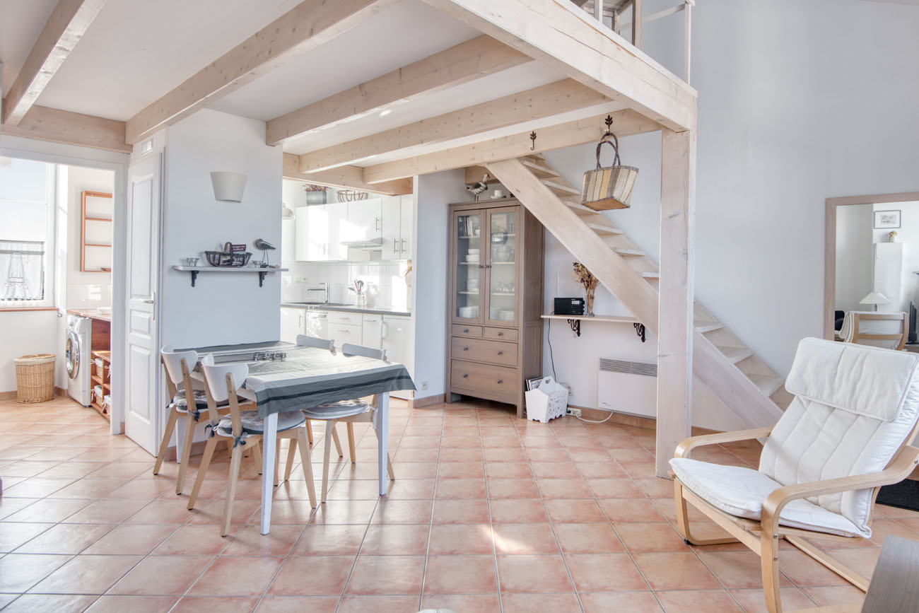 Location Appartement Ile de Ré - Natice - Séjour