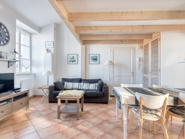 Location Appartement Ile de Ré - Natice - Salon
