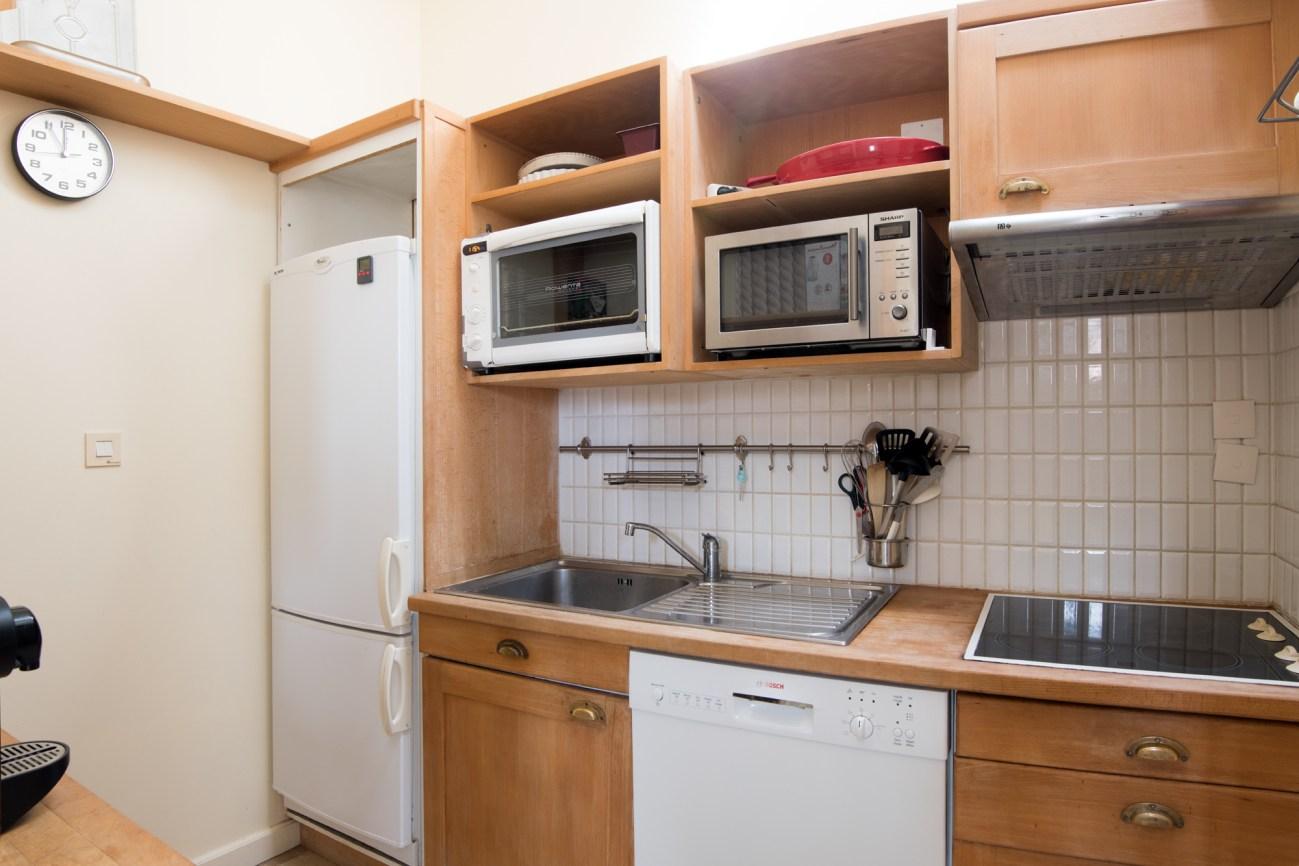 Location Appartement Ile de Ré - Neptune - Cuisine
