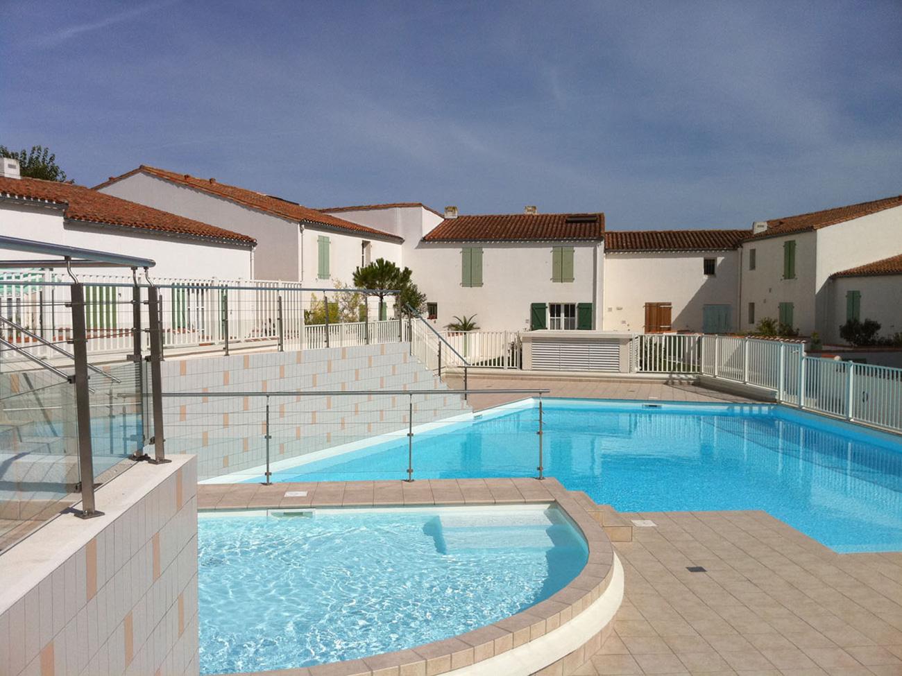 Location Appartement Ile de Ré - Oceanis - Piscine