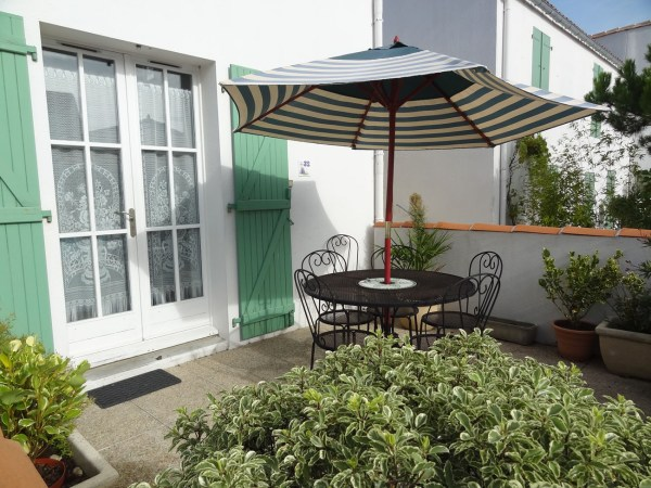 Location Appartement Ile de Ré - Oceanis - Terrasse