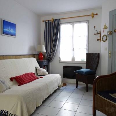 Location Appartement Ile de Ré - Sainte-Clair - Salon
