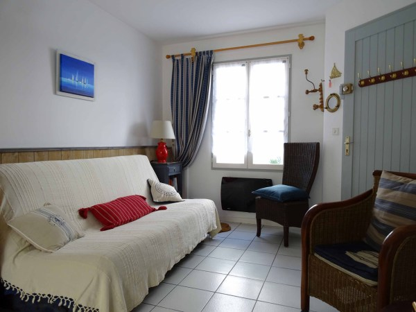 Location Appartement Ile de Ré - Sainte-Clair - Salon
