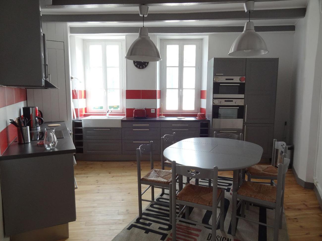 Location Appartement Ile de Ré - Sully - Cuisine