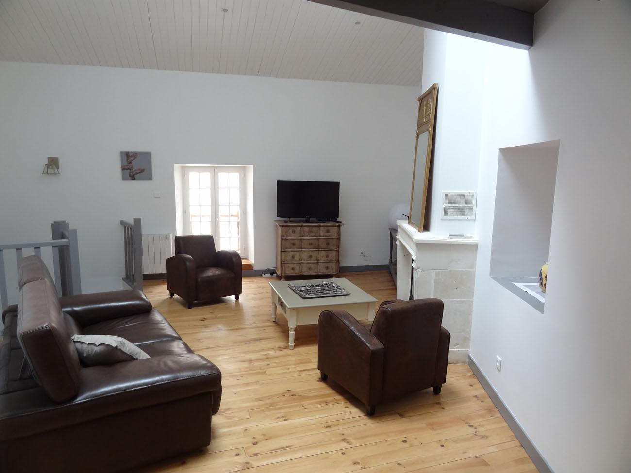 Location Appartement Ile de Ré - Sully - Salon 2
