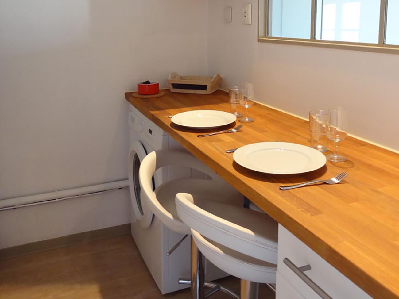 Location Appartement Ile de Ré - Vue-Mer - Coin repas