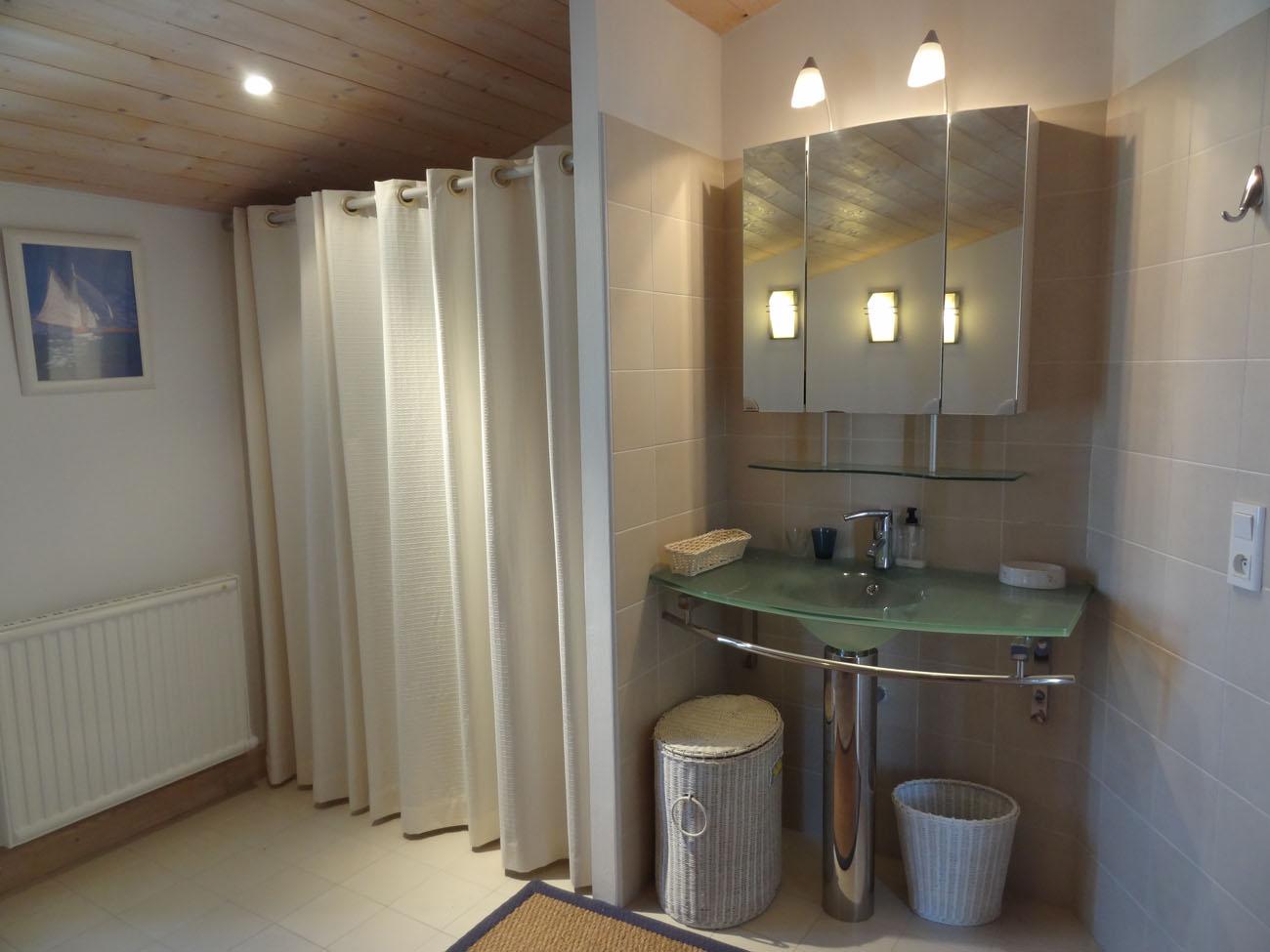 Location Maison Ile de Ré - Campanule - Salle de bain