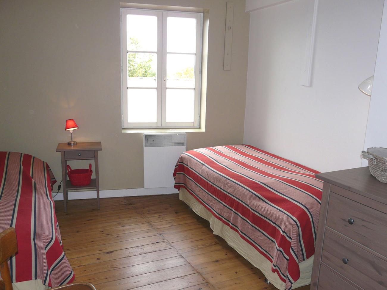 Location Maison Ile de Ré - Fleur-de-sel - Chambre 2