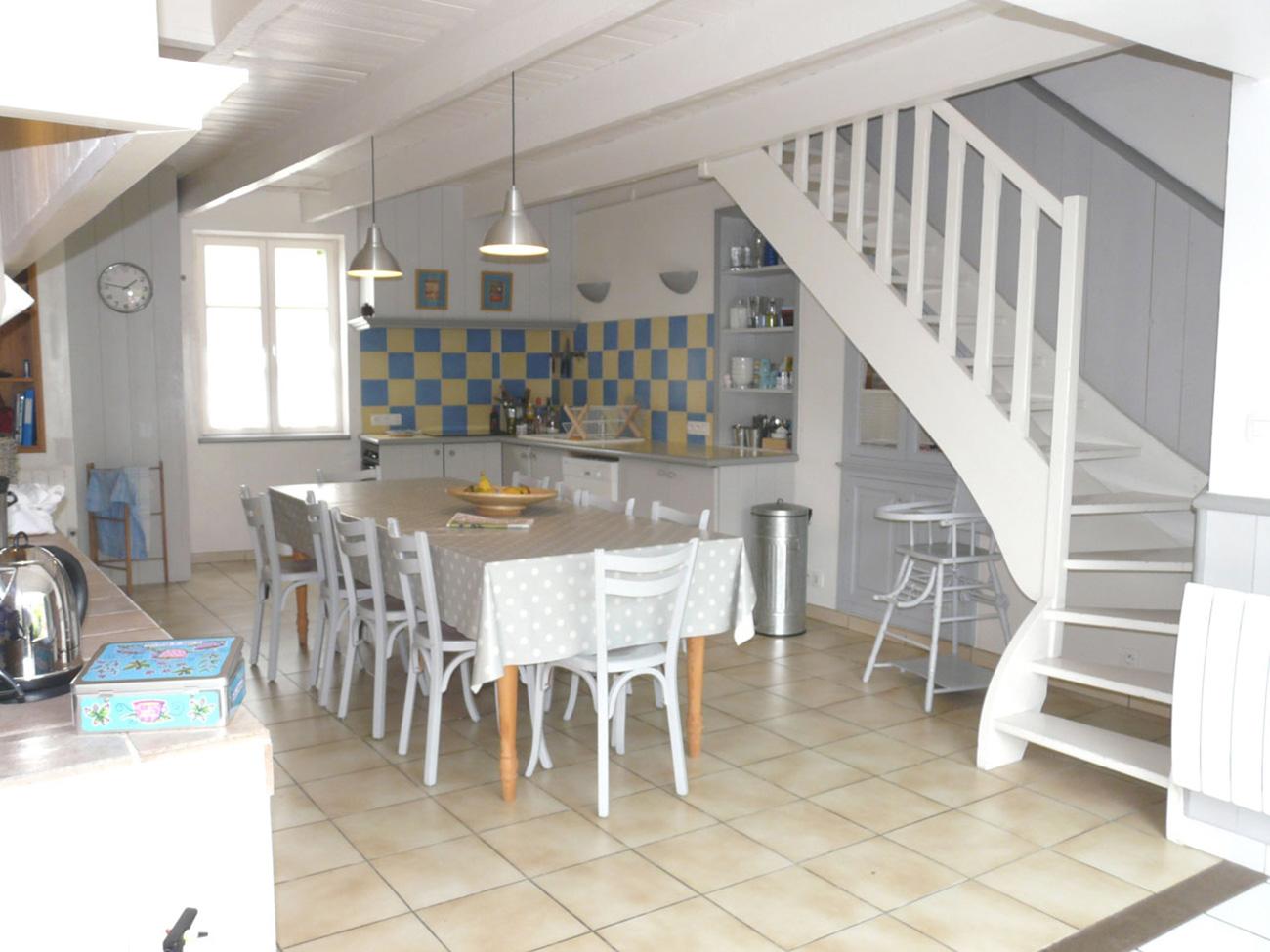 Location Maison Ile de Ré - Fleur-de-sel - Cuisine