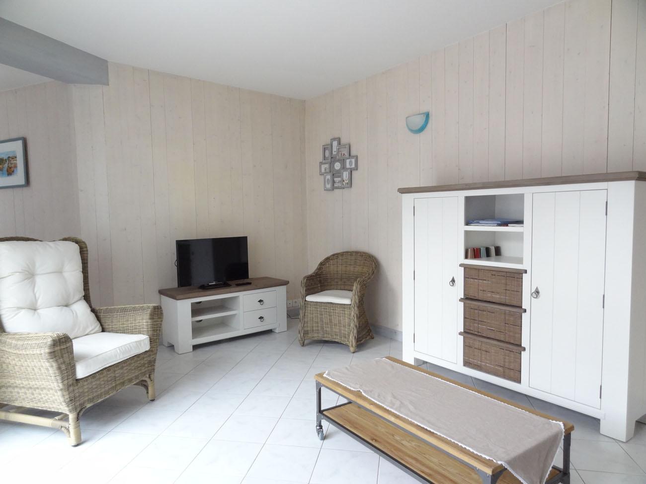 Location Maison Ile de Ré - Marceane - Salon