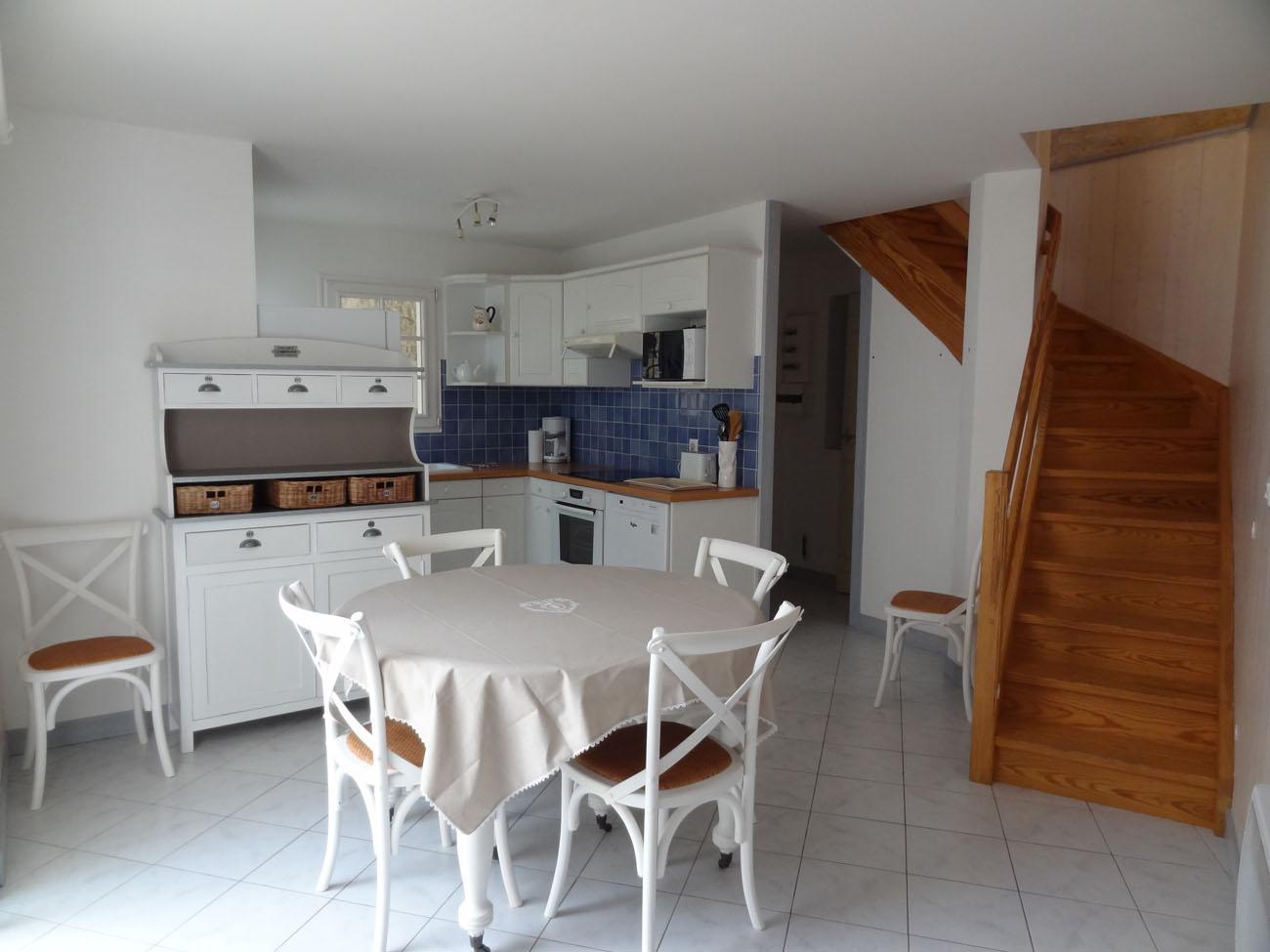 Location Maison Ile de Ré - Marceane - Salle à Manger