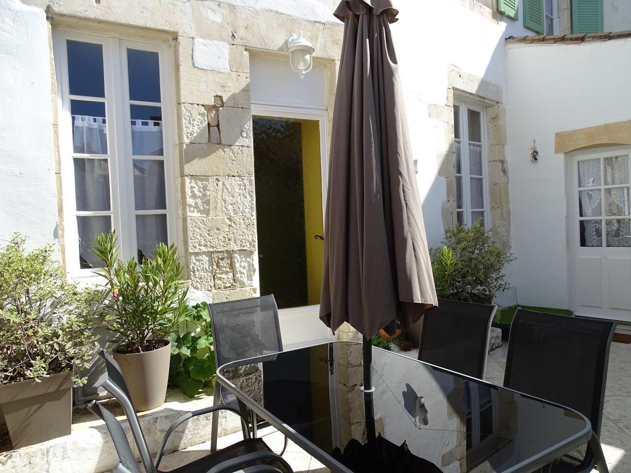 Location Maison Ile de Ré - Santoline - Terrasse