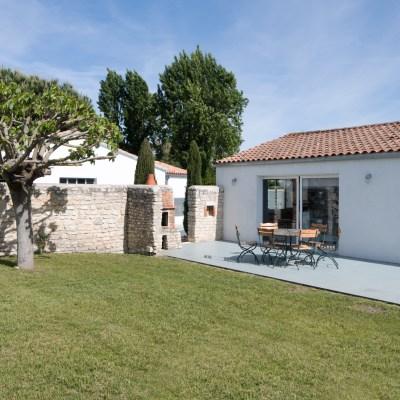 Location Maison Ile de Ré - Thalaos - Jardin