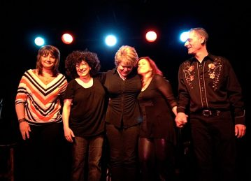 Ilene Angel and Friends at The Triad, NYC with BethAnne Clayton, Tanya Leah, Lorraine Ferro and Garry Novikoff