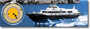 Réservez vos billets de bateau ou hydroglisseur pour les Îles Éoliennes
