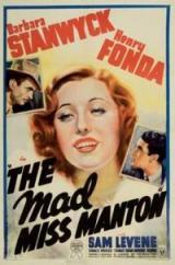 Miss Manton est folle de Leigh Jason en DVD