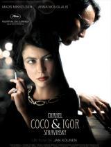 Coco Chanel et Igor Stravinsky