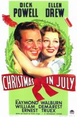 Christmas in July (Le Gros lot, 1940)