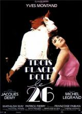 DVD «Trois places pour le 26»
