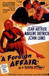 La Scandaleuse de Berlin ( A Foreign Affair – 1948)