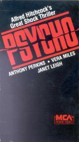 Psychose en Blu-Ray et DVD