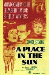 Une place au soleil  (A Place in the Sun – George Stevens, 1951)