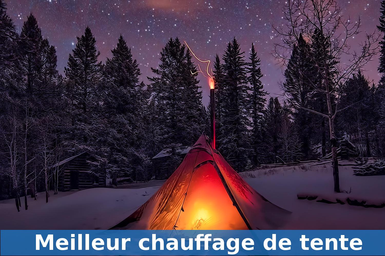 chauffage de tente de camping