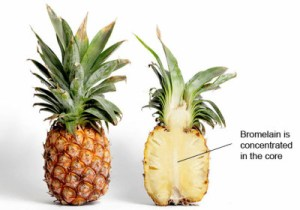ananas vs tosse