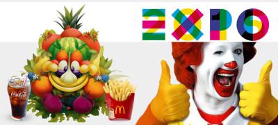 EXPO 2015 - McDonald's e Coca Cola Sponsor