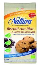 nattura Biscotti riso  cioccolato