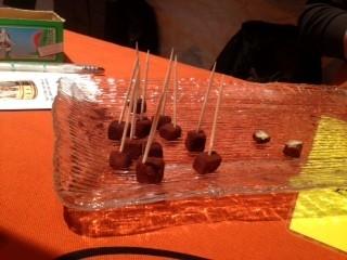 cioccolato finger food