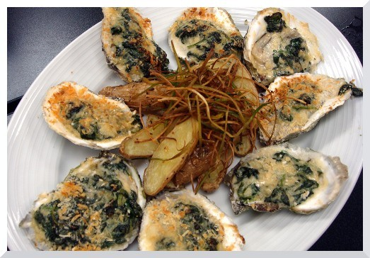 Barron - Oysters Rockefeller
