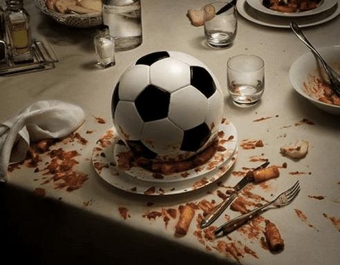 la gara gastronomica tra le nazioni del Mondiale