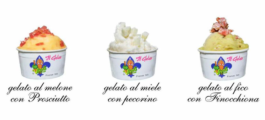 gelati Vivoli e Bencistà Falorni