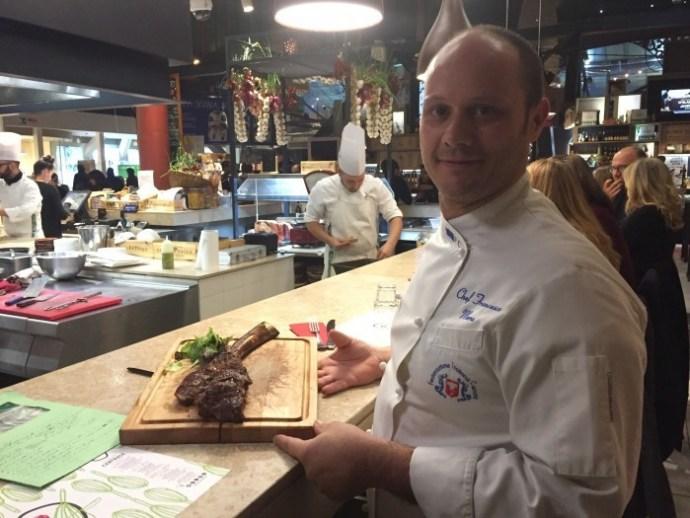 carne tomahawk Tosca Mercato Centrale Firenze - il Forchettiere