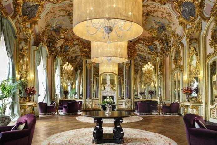 Villa Cora_Salone degli Specchi