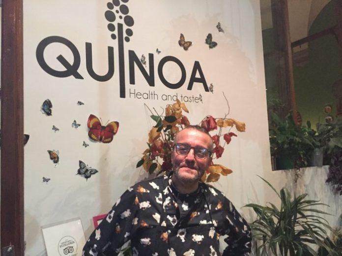 Simone Bernacchioni di Quinoa, il ristorante gluten free a Firenze dall'anima gourmet