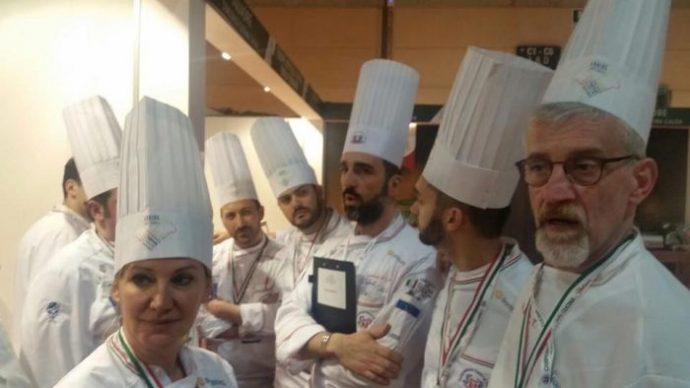 campionati di cucina FIC team Toscana