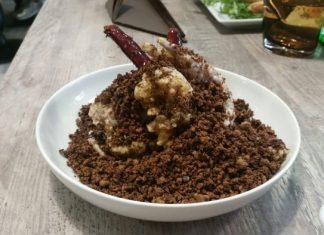 granchio guscio morbido fritto