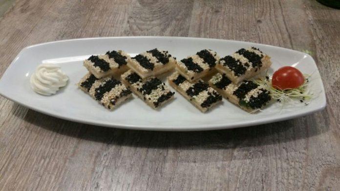 toast di gambero - photo Il Forchettiere