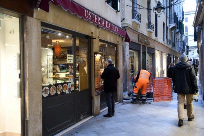 VENEZIA 22/01/18 - Alcuni ristoranti a Venezia. ©Andrea Pattaro/Vision - Alcuni ristoranti a Venezia. - fotografo: ©Andrea Pattaro/Vision
