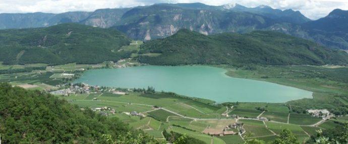 Kalterer lago caldaro