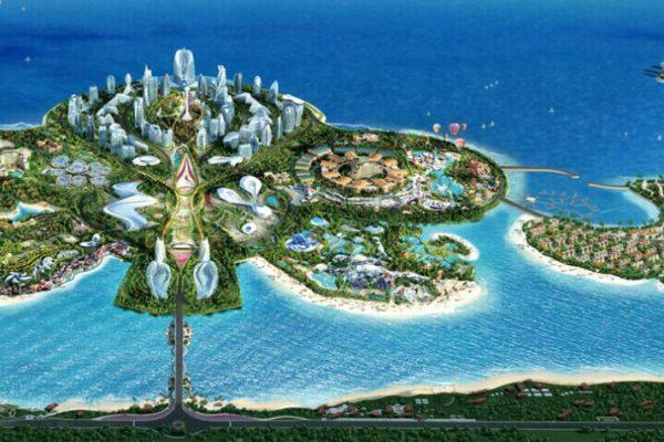 ocean flower island