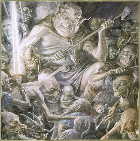Illustrazioni Tolkien Il Signore degli Anelli Il