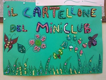 Cartellone mini club