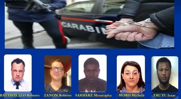 Cocaina dallAfrica per il Nordest sgominata banda di trafficanti